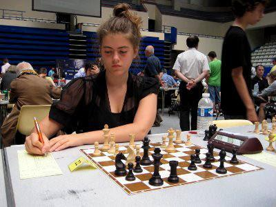 Sophie Aflalo du club d'échecs de Bois-Colombes © Chess & Strategy