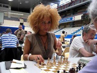 Echecs à Paris : Aurélie Dacalor © Chess & Strategy