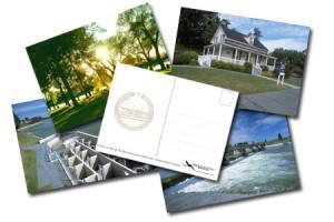 Le défi cartes postales