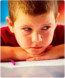 les causes de stress et les enfants