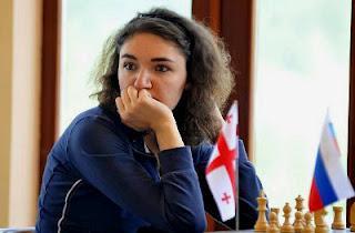 La Géorgienne Nana Dzagnidze (2478) © site officiel