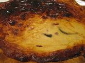 Tarte fromage blanc poivrons gelée piment d'espelette