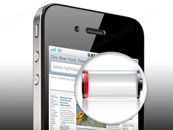 10 Astuces pour ameliorer l'autonomie de votre iPhone 4