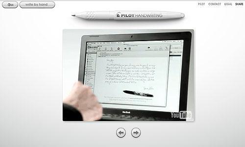 04 pilothandwriting 03 Pilot Handwriting, écrivez vos mails à la main...