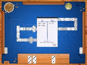 Jouer aux dominos sur iPad