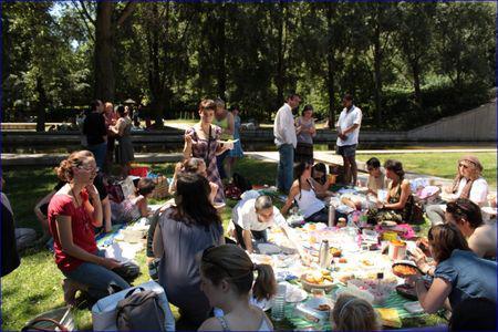 Pique nique blogueurs Dorian 4 juillet 2010