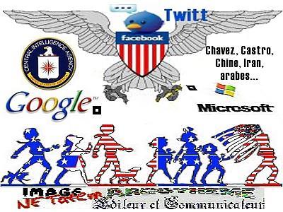 La CIA redouble de férocité dans l'instrumentalisation des réseaux sociaux du Web