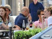 Blair Waldorf déjeune Paris