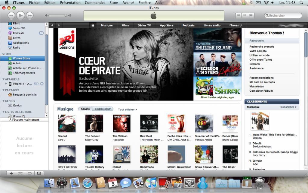 Vérifier ses achats et retirer ses données bancaires de l'iTunes Store