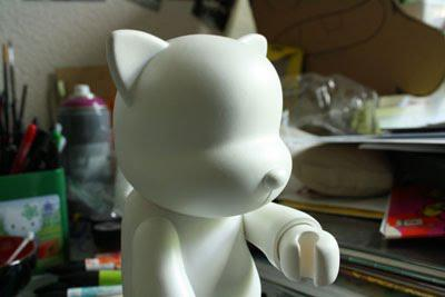 Le Qee cat contre Pixel