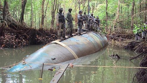 Trafiquants de drogue en sous-marin