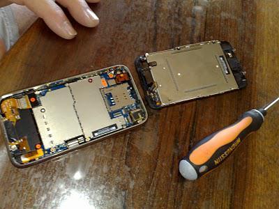 Mort d'un iPhone...