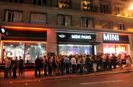 Nouveau Brand Store Mini BMW
