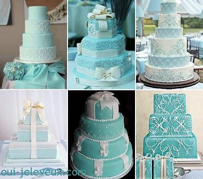 Une décoration de mariage bleu turquoise? Oui, je le veux !  À ...