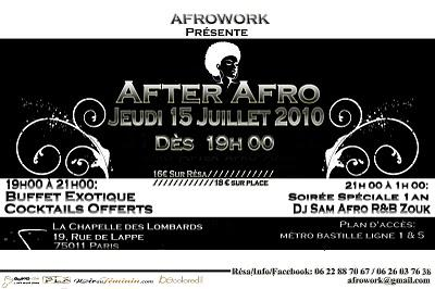 After afro. 15 juill.
