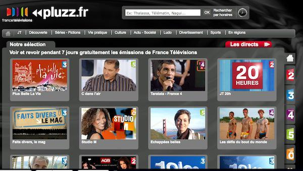 pluzz France Télévision lance Pluzz.fr