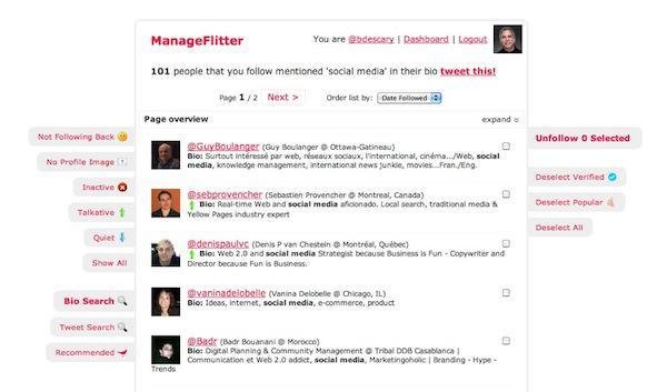managefilter 11 ManageFilter, un nouveau vieux service pour gérer votre compte Twitter