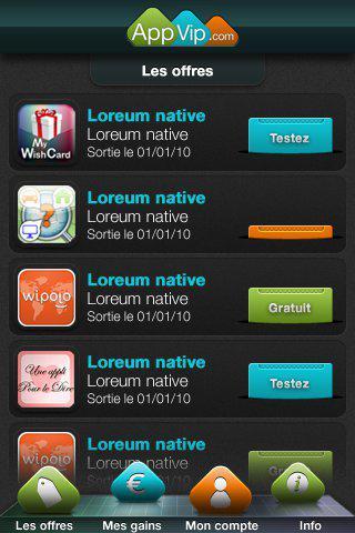 Appvip: L'application officielle iPhone bientôt sur l'Appstore