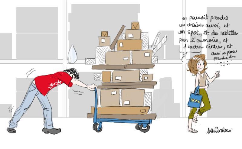 Les rayures du z bre meuble son appartement paperblog for Meuble zebre