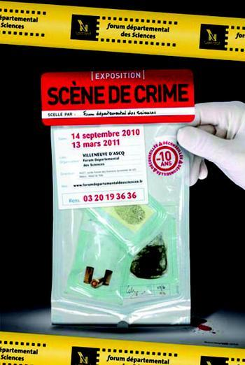 exposition scène de crime
