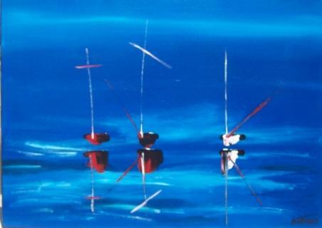 La mer (Jacqueline Astégiano)