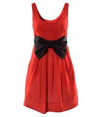 Robe rouge à pois H&M.jpg