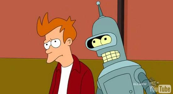 futurama eyephone Futurama se moquerait il de lIphone avec son EyePhone ?