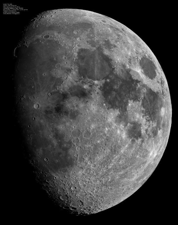 Galerie d'images lunaires en ligne