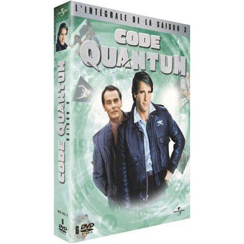 Test DVD : Code Quantum – Saison 3