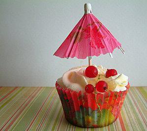 Cupcakes Lemon Curd Bergamote Cardamome et Néroli
