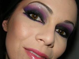 Arabic  Inspired: Violet,Fushia,black