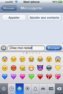 Astuce pour activer Emoji dans iPhone 4...
