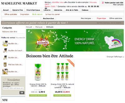Aquapax enfin on-line sur Madeleine Market