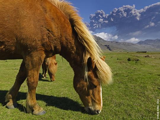 Hasselblad dévoile des photos explosives du Eyjafjallajökull
