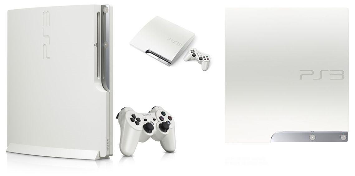 ps3 slim white 1 oosgame weebeetroc [actu] Qui veut une Playstation 3 toute blanche ?