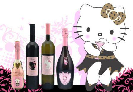 Hello Kitty Wine et Champagne