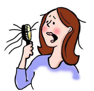 cause chute de cheveux chez femmes hommes