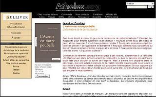 Livre : Jean-Luc Coudray - L'Avenir est notre poubelle