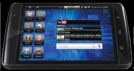 Dell Streak, les vidéos de présentation