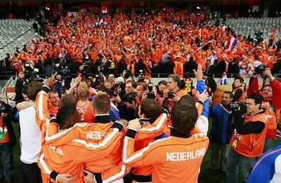 Coupe du Monde 2010: Hollande-Uruguay