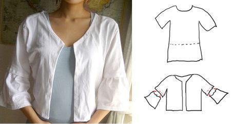customiser son tee shirt en 5 tutos voir. Black Bedroom Furniture Sets. Home Design Ideas