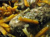 Tajine poulet épices marocains