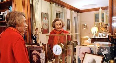 Liliane Bettencourt sous le regard d'un grand ancien !