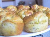 Minis Cakes Chèvre-Artichaut