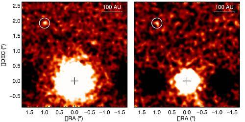 La première image directe d'une exoplanète est confirmée