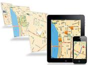 Mappy lance pour application iPhone