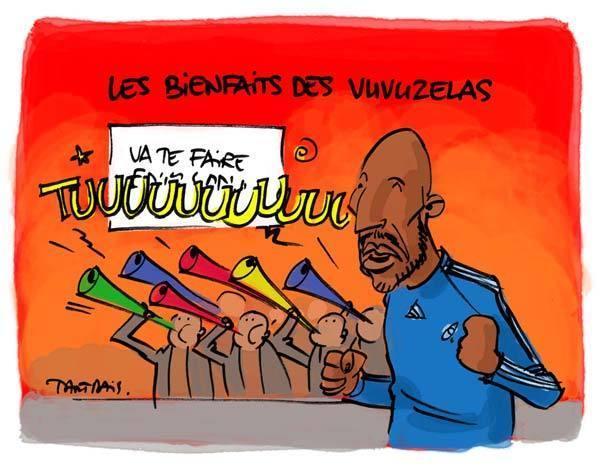 Les vuvuzelas