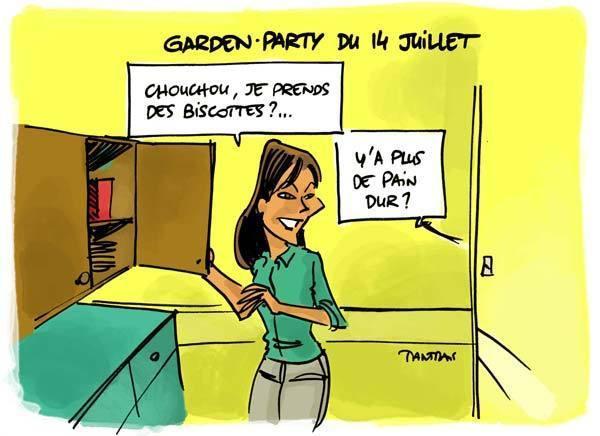 Garden Party Elysée Annulée