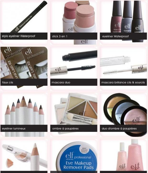 maquillage 1 euros seulement