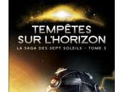 TEMPETES HORIZON, tome saga soleils Kevin Anderson